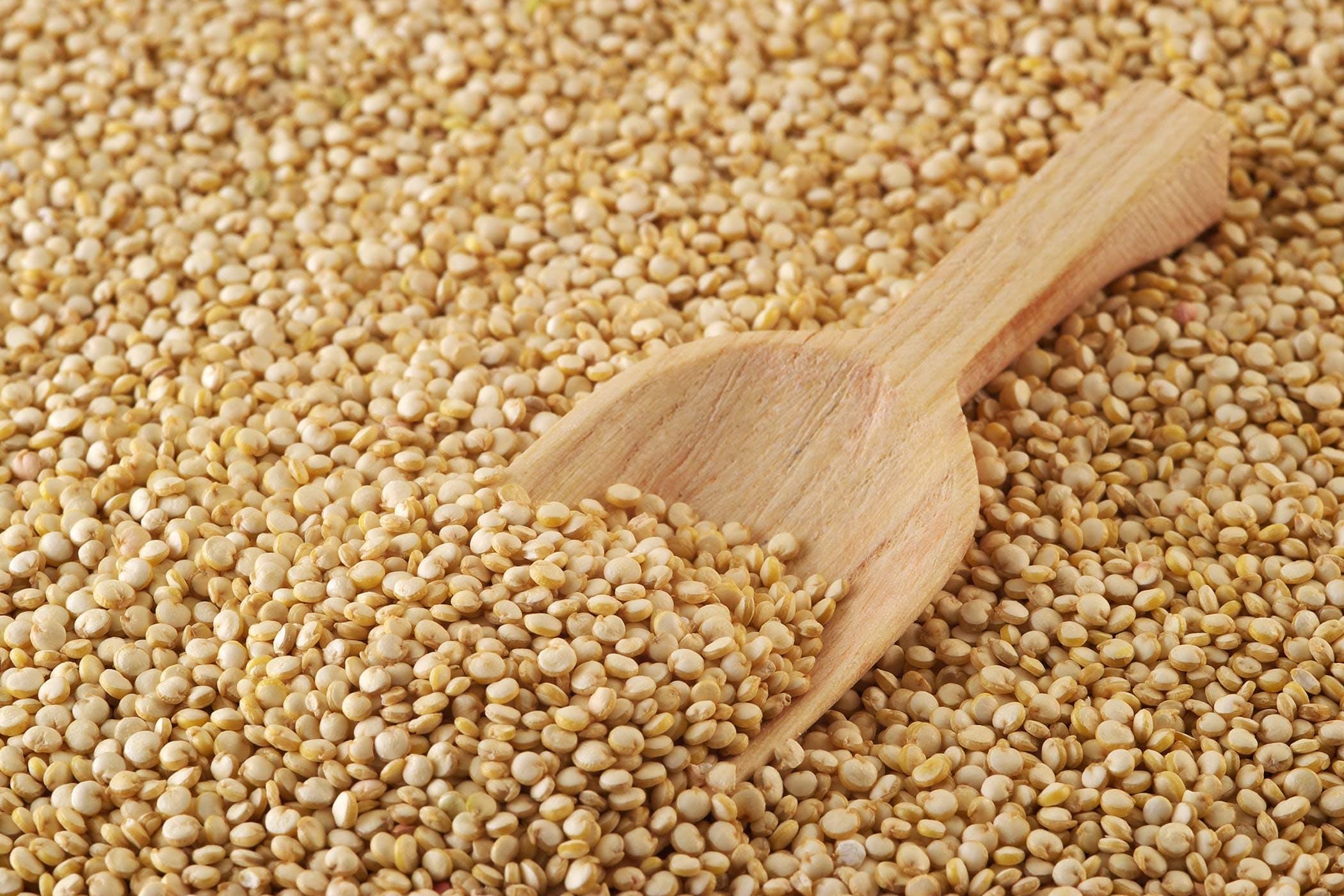 Quinoa reaction